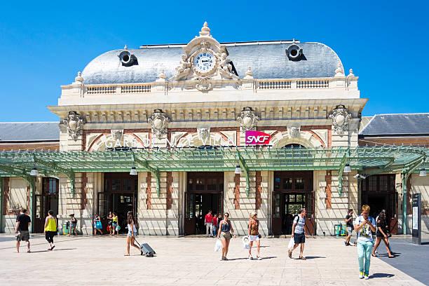 Nice Train Station, France - Gare de Nice Ville stock photo