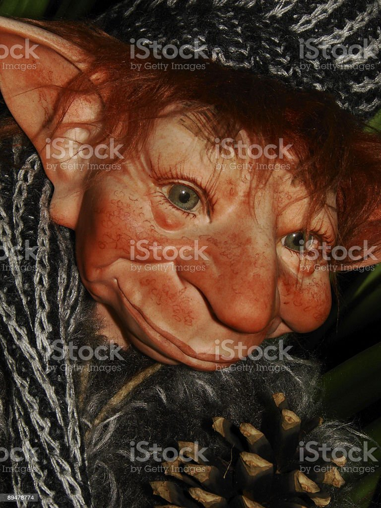 Nice Troll stock photo