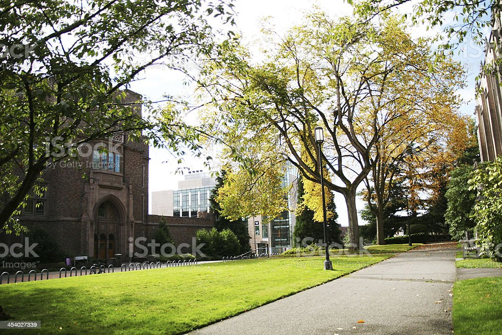 Nice walk in the autumn - Royalty-free Arrival Stock Photo