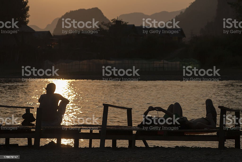 Nice ways to relax royalty-free stock photo