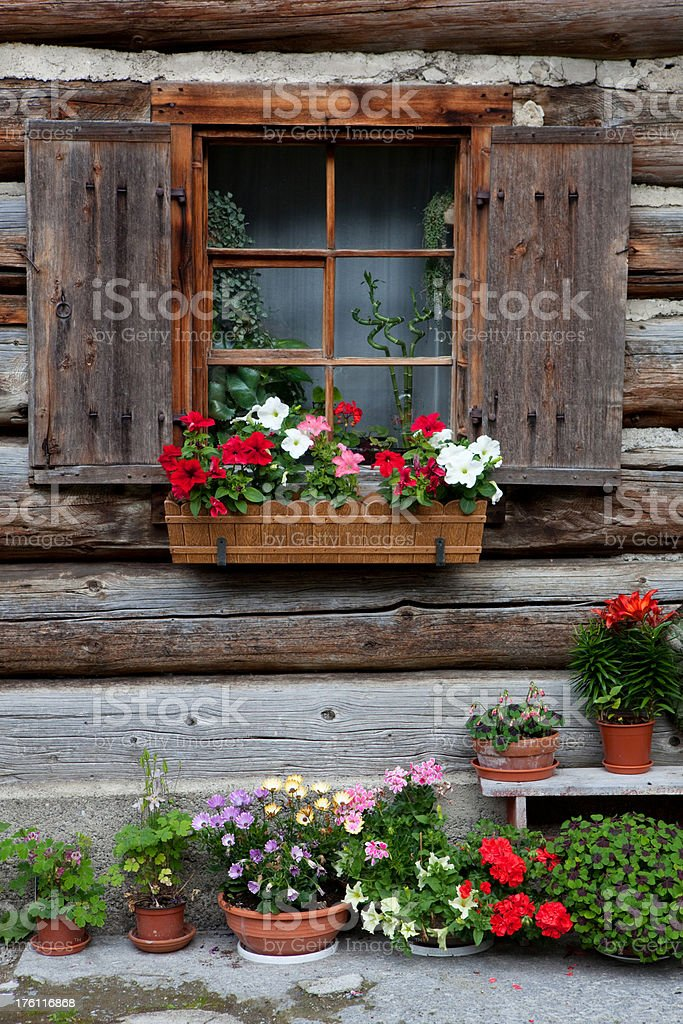 nice wityrolean hut royalty-free stock photo