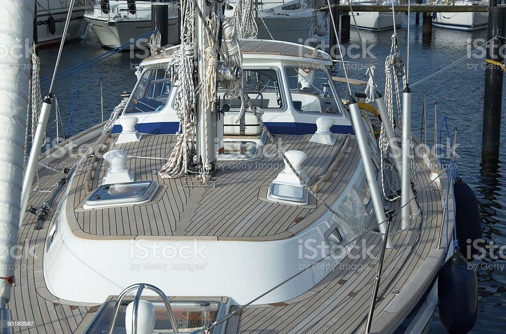 Nice Yacht stock photo