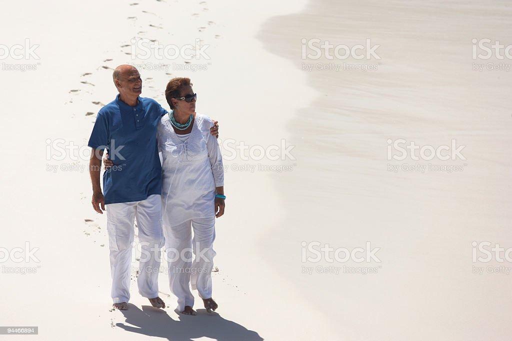 nicely dressed seniors royalty-free stock photo