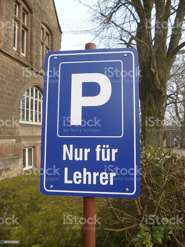 Schöner parken stock photo