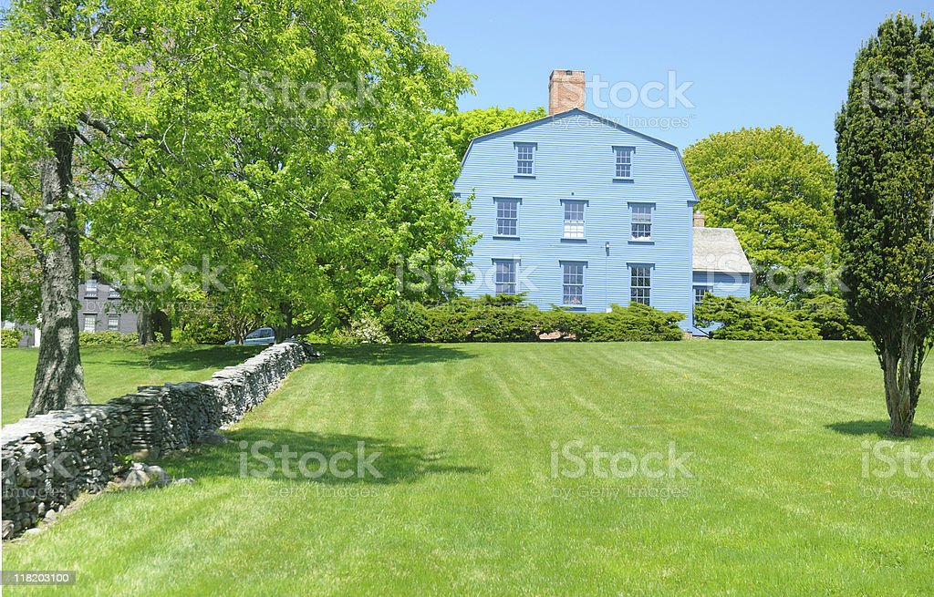 Nichols-Overing House stock photo