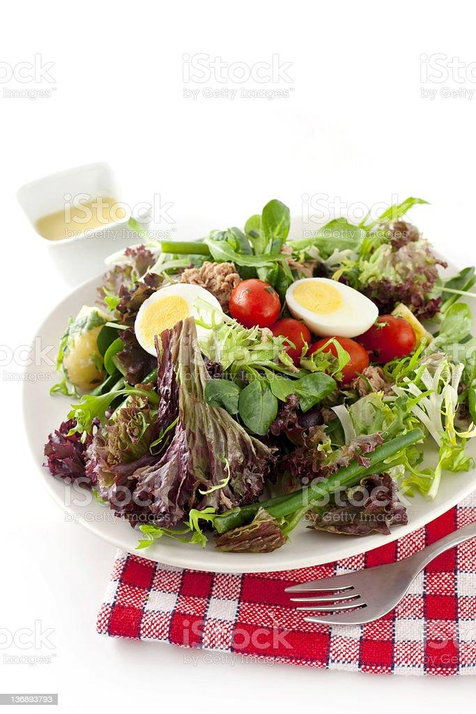 Nicoise Salad royalty-free stock photo