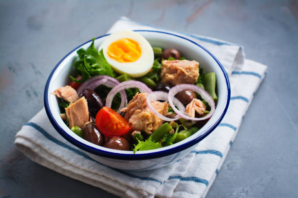 Nicoise Salad stock photo