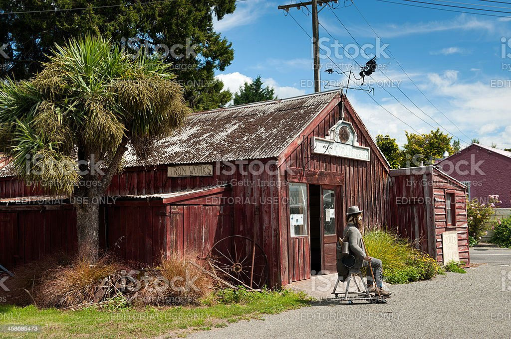 Nicol's Blacksmith Shop royalty-free stock photo