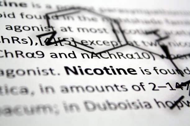 니코틴 - 니코틴 뉴스 사진 이미지