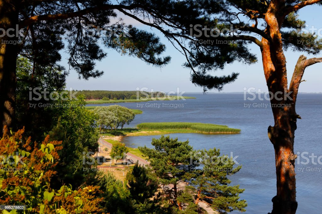 Nida, Courland Spit (Kurische Nehrung), Lithuania, Baltic Sea stock photo