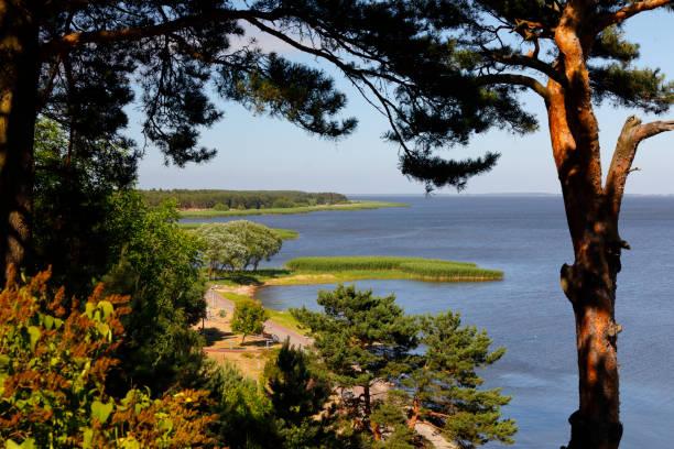Nida, Courland Spit (Kurische Nehrung), Lithuania, Baltic Sea stock photo