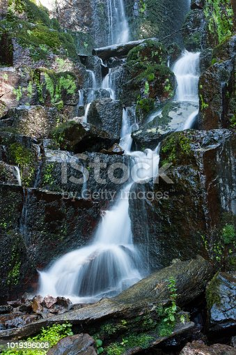istock Nideck waterfall in Vosges France 1019396008