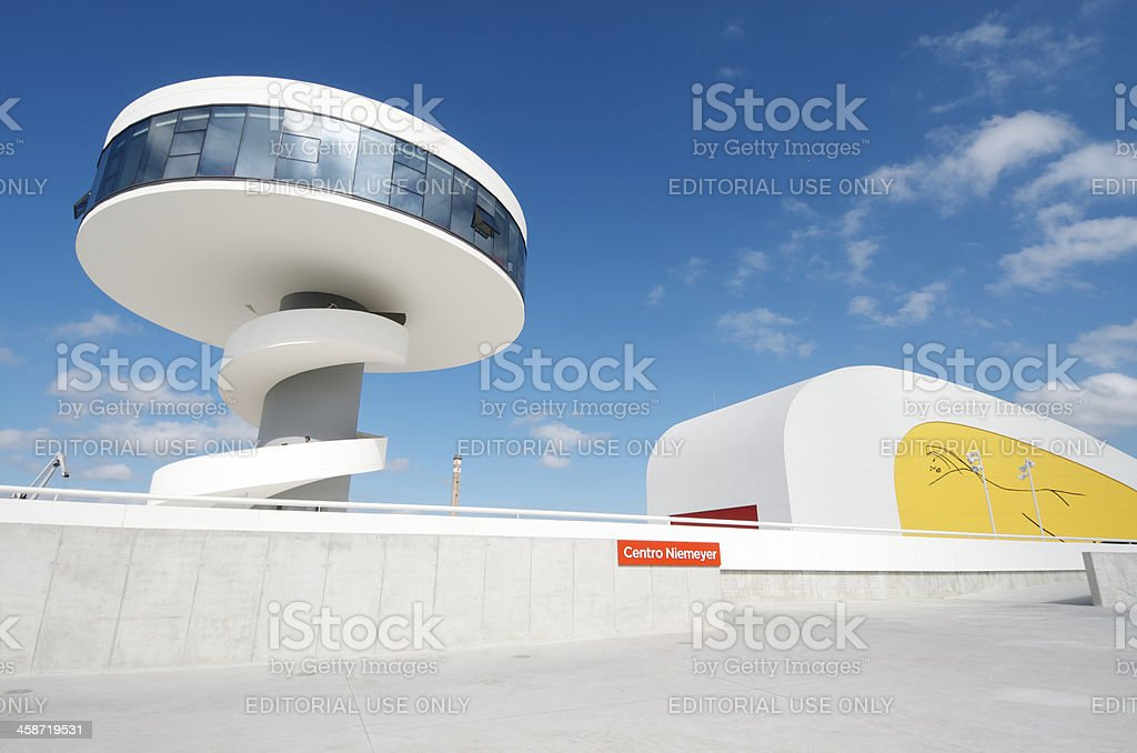 Niemeyer Center stock photo