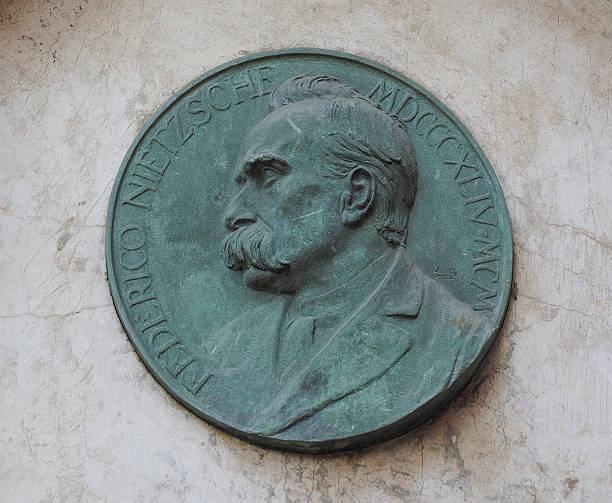 Nietzsche placa em Turim - foto de acervo