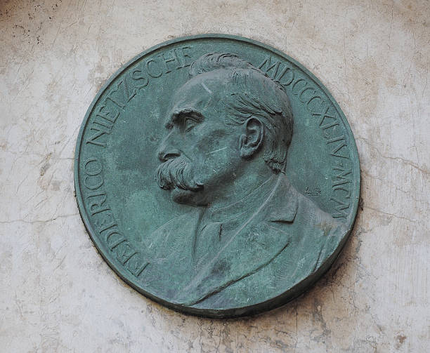 Nietzsche Gedenk- oder Hinweistafel in Turin – Foto