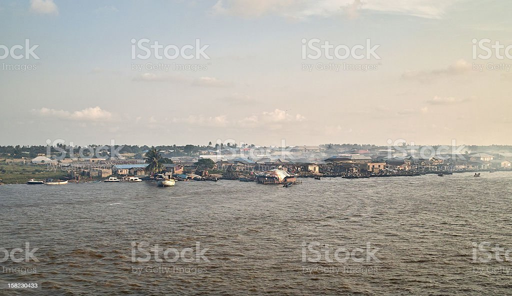 niger river stock photo