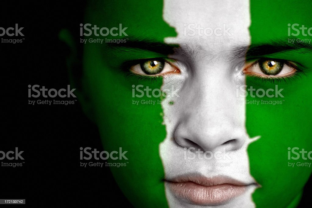 Nigerian Boy stock photo