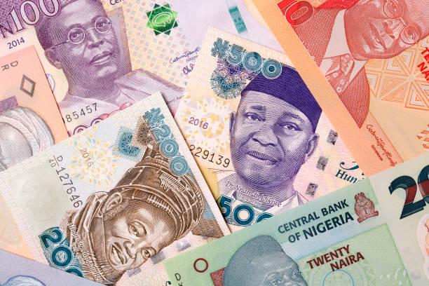 Nigerianische Geld, einen Hintergrund – Foto