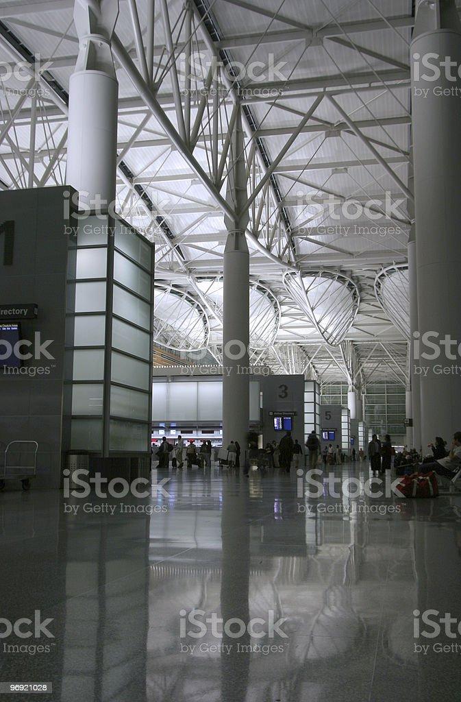 Night Airport 1 royalty-free stock photo