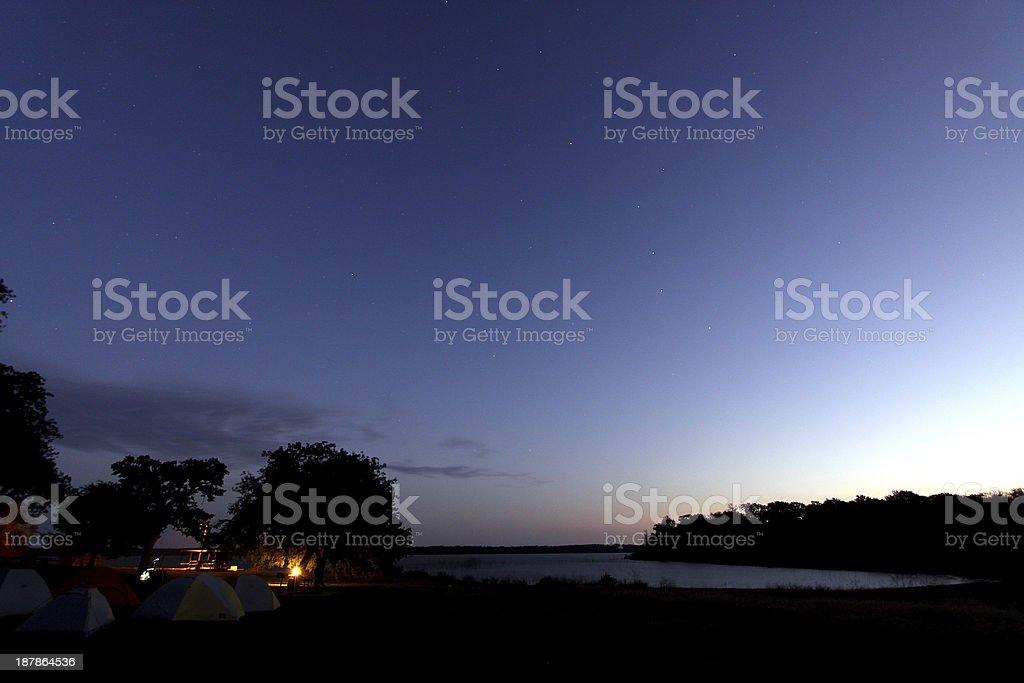 Night Arrival stock photo