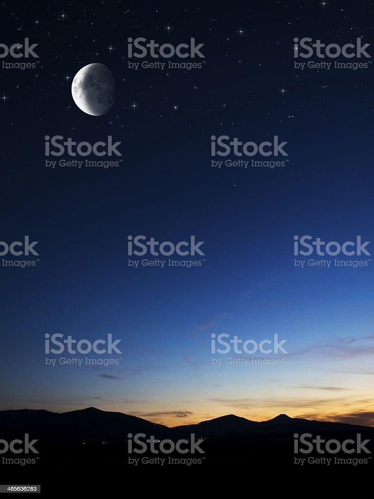 night background royalty-free stock photo
