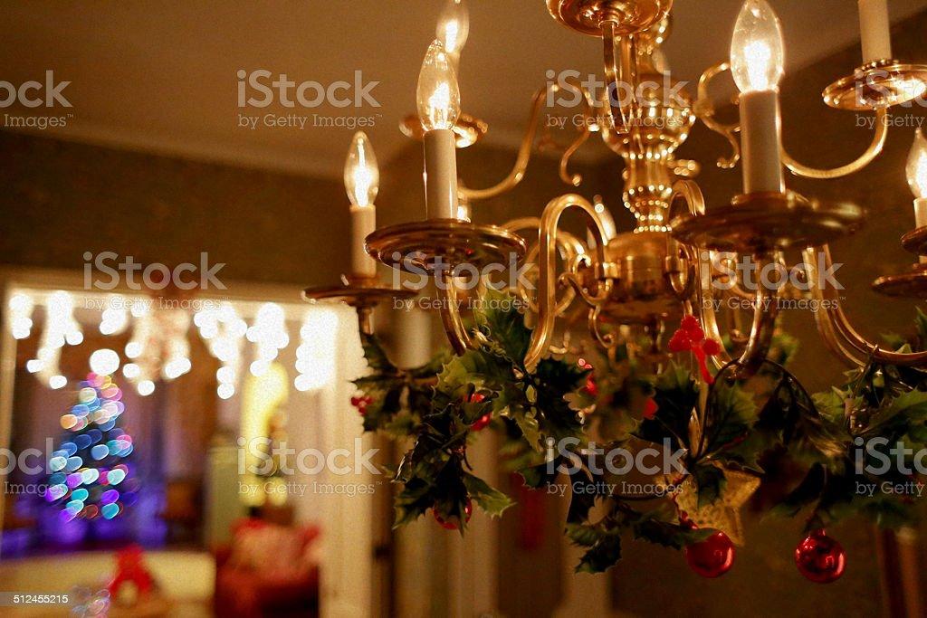 Night Before Christmas stock photo