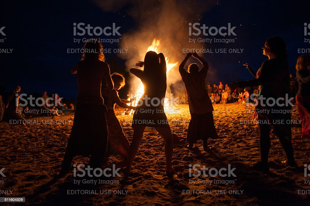 night campfire圖像檔