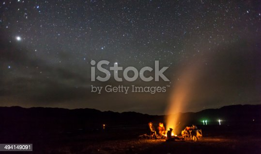 istock night camping under the stars Mountains 494149091