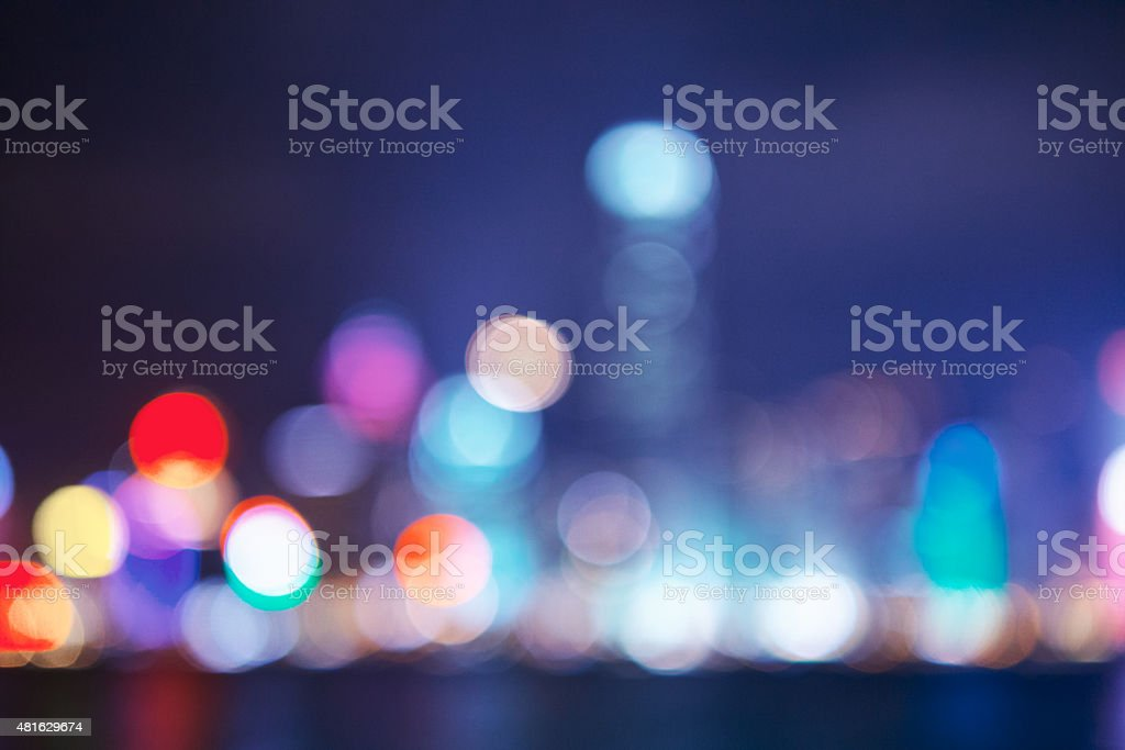 Night City stock photo