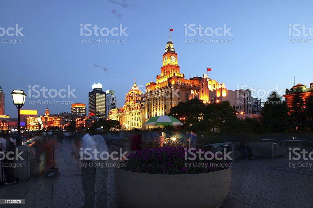 Night city view royalty-free stock photo
