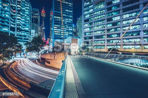 istock night cityscape of Sydney downtown 975583742