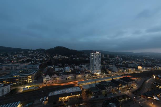 Nachtstadtbild – Foto