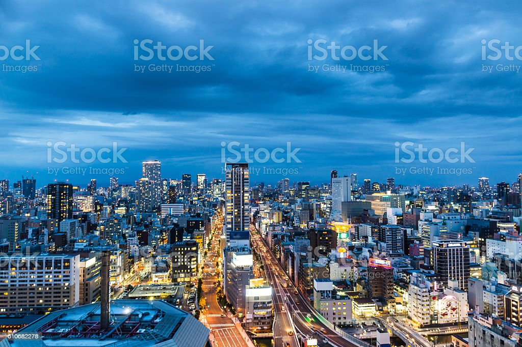 Night Cityscapes stock photo