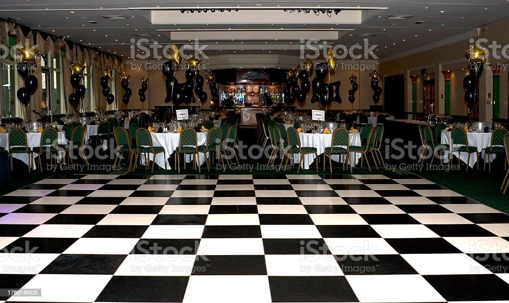 Night club dance floor stock photo