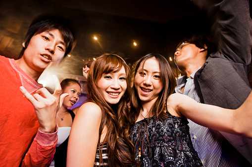 Night Club Disco Party Tokyo Stock Photo - Download Image Now
