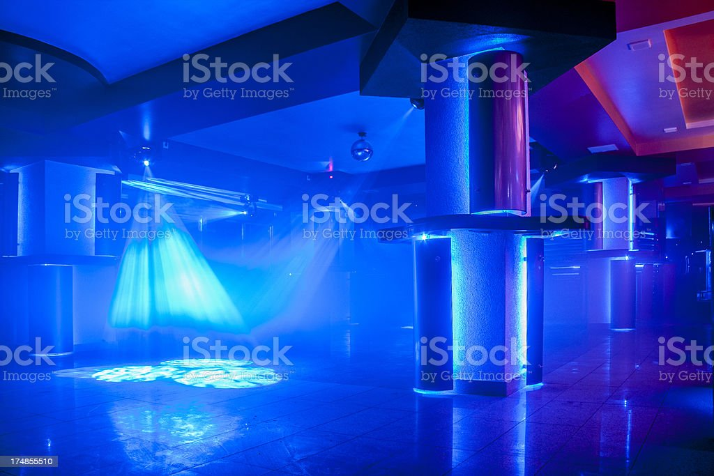 Night club light stock photo