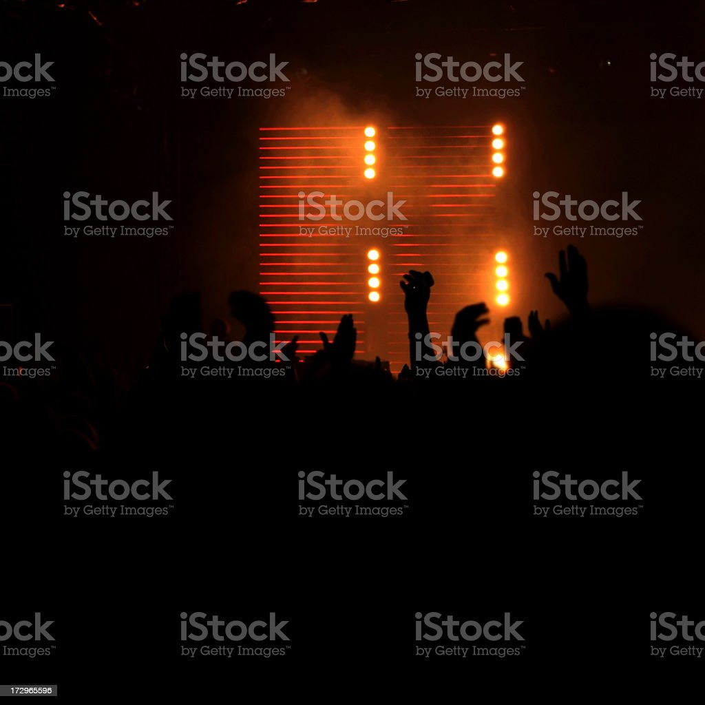 Night club royalty-free stock photo