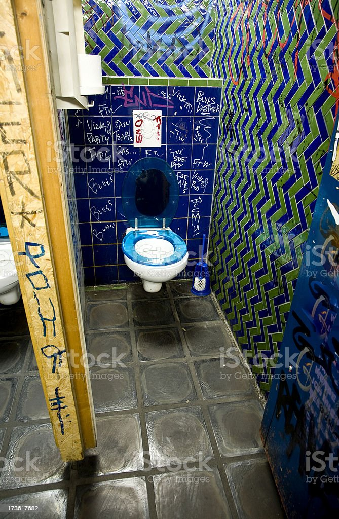 night club restroom royalty-free stock photo
