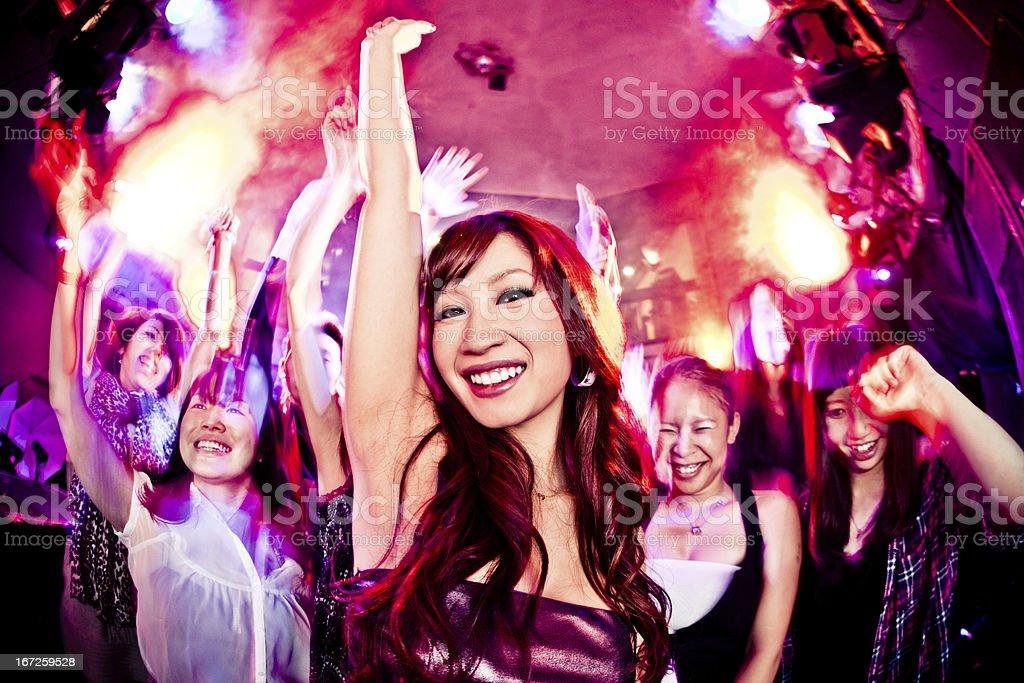 Nacht Clubber Mädchen Tanzen – Foto