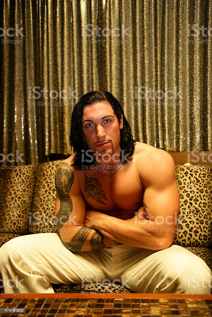 Night clubber royalty-free stock photo