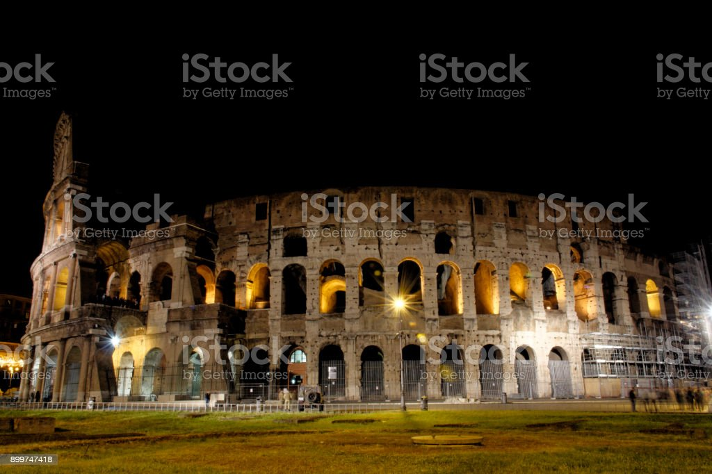 Night Colosseo stock photo