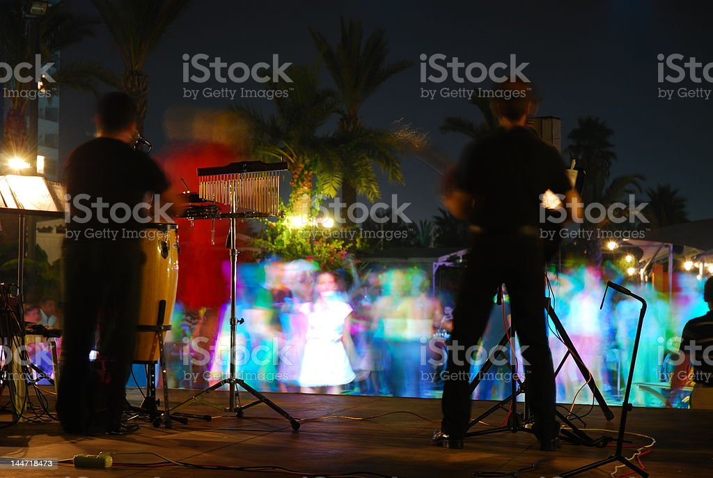Night concert royalty-free stock photo