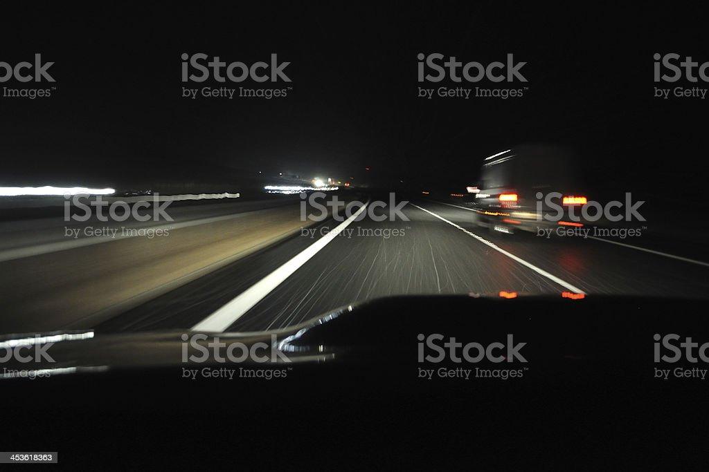 Nacht vom Auto anzeigen – Foto
