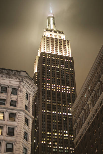 Nuit Empire State Building. - Photo