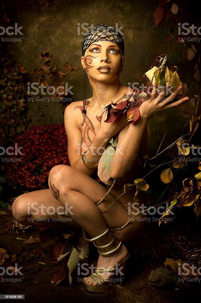Night Fairy royalty-free stock photo