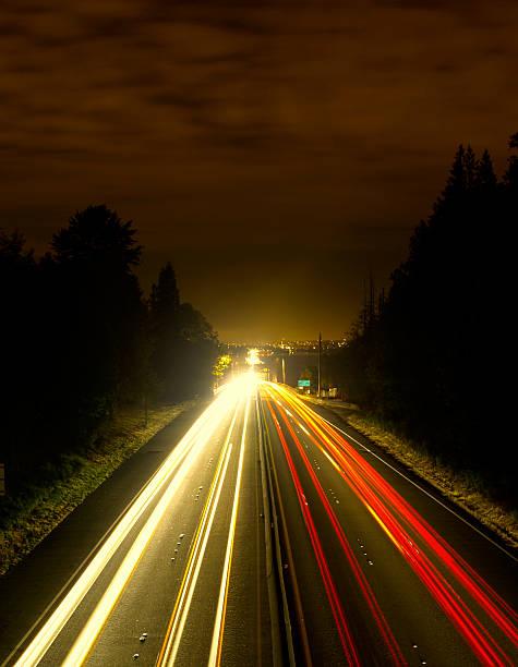 Nacht Freeway – Foto