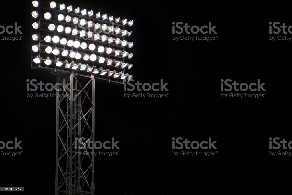 Night Game stock photo