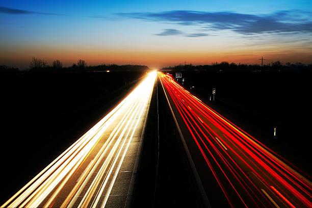 Nacht highway – Foto