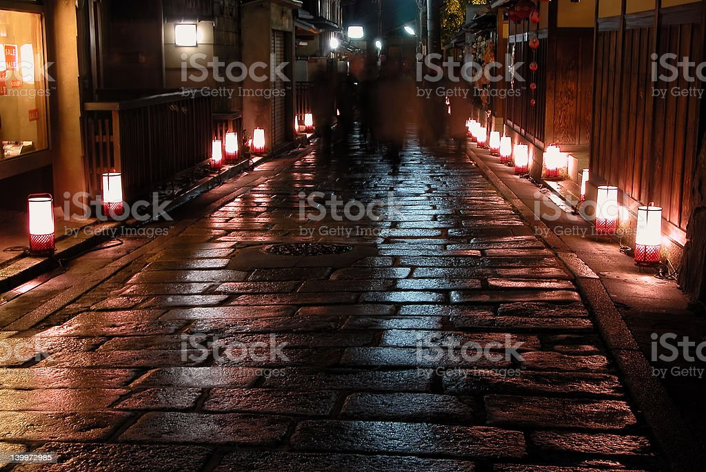 Night illumination royalty-free stock photo
