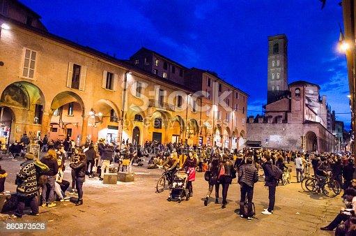 istock Night in Bologna 860873526